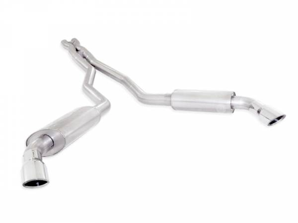 Stainless Works - Stainless Works Catback Dual Turbo Chambered Mufflers Performance Connect