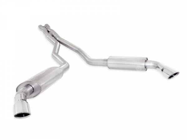 Stainless Works - Stainless Works Catback Dual Turbo S-Tube Mufflers Performance Connect