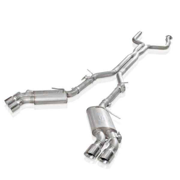 """Stainless Works - Stainless Works Legend Catback w/AFM Delete & NPP Valve with Quad 4"""" Tips"""