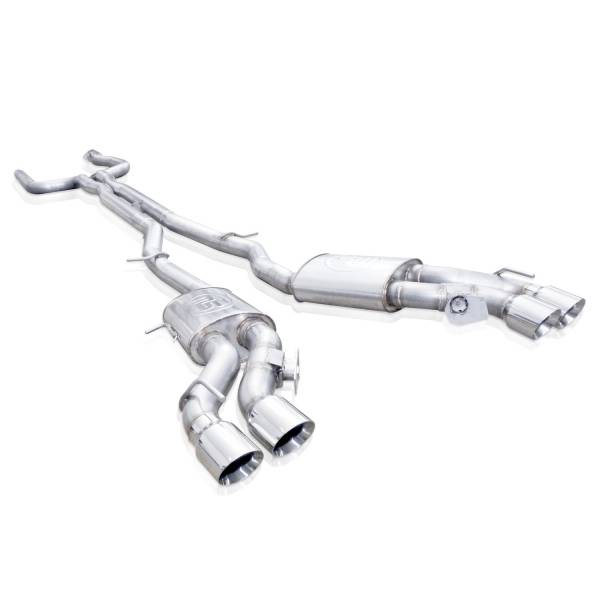 Stainless Works - Stainless Works Catback Dual Turbo Custom Mufflers Factory Connect