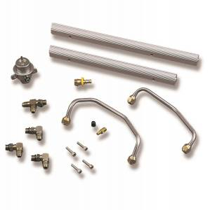 Fuel Injection System and Related Components - Fuel Injector Rail - Holley EFI - Holley EFI Commander 950 Multi-Point Fuel Rail Kit 9900-172