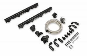 Fuel Injection System and Related Components - Fuel Injector Rail - Holley EFI - Holley EFI EFI Fuel Rail Kit 534-245