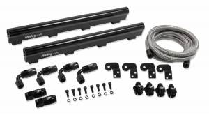 Fuel Injection System and Related Components - Fuel Injector Rail - Holley EFI - Holley EFI LS7 Fuel Rail Kit 534-231