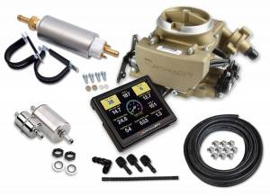 Fuel Injection System and Related Components - Fuel Injection Throttle Body - Holley EFI - Holley EFI Sniper EFI 2GC Large Bore Master Kit 550-857K