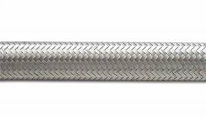 Fuel Storage - Fuel Hose - Vibrant Performance - Vibrant Performance 12AN0.68in.SSBrdFlexHos20Ft 11932