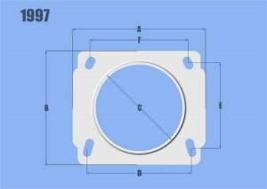 Sensors - Mass Air Flow Sensor Adapter - Vibrant Performance - Vibrant Performance AlMAFSensorNissan3in.IDFltr 1997