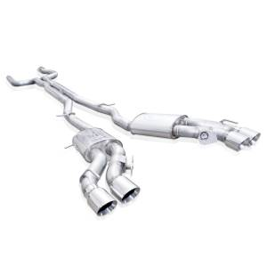 Stainless Works - Stainless Works Catback Dual Turbo Custom Mufflers Factory Connect - Image 1