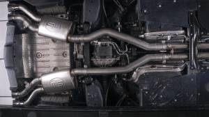 Stainless Works - Stainless Works Catback Dual Turbo Custom Mufflers Factory Connect - Image 13