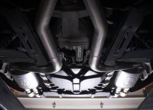 Stainless Works - Stainless Works Catback Dual Turbo Chambered Mufflers Performance Connect - Image 7